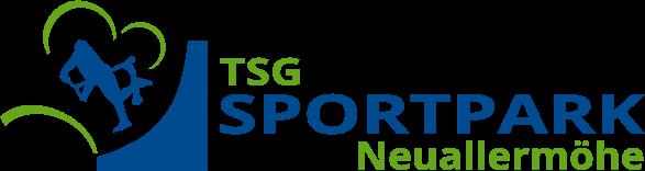 Logo TSG SportparkNeuallermoehe ENDVERSION Bild Und Wort Getrennt